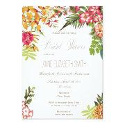 Summer Floral Bridal Shower