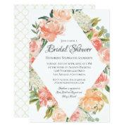 Summer Watercolor Floral Medley Bridal Shower