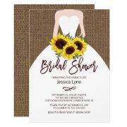 Sunflower Autumn Bride Bridal Shower