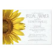 Sunflowers Bridal Shower