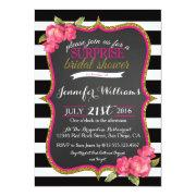 Surprise Bridal Shower Invitations