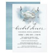 Swan On The Lake Watercolor Bridal Shower