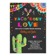 Taco Bout Love Fiesta Couples Shower Invitation