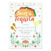 Tacos And Tequila Couple Shower