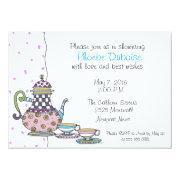 Tea Party - Bridal Shower