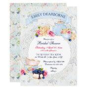 Tea Party Lace Doily Watercolor