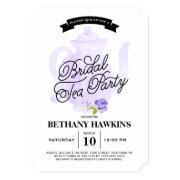 Tea Party Purple | Bridal Shower