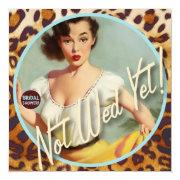 The Kitsch Bitsch : Not Wed Yet! Bridal Shower