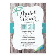 Beach Bridal Shower Invitations FunBridalShowerInvitations
