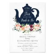 Time For Tea Bridal Shower Invitation