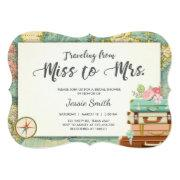 Travel Bridal Shower  Miss To Mrs