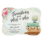 Travel Themed Bridal Shower Miss To Mrs Ct