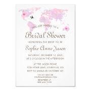 Travel Wedding Watercolor World Map Bridal Shower