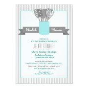 Trendy Stock the Kitchen Bridal Shower Invitations