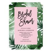 Tropics Bridal Shower