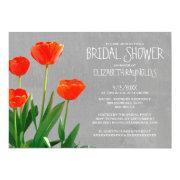 Tulips Bridal Shower