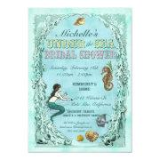 Under The Sea Mermaid Bridal Shower