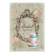 Victorian Floral Botanical Bridal Shower Tea Party