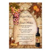 Vineyard Wine Theme Bridal Shower
