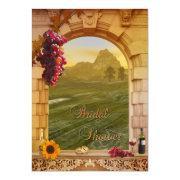 Vineyard Wine Themed Fall Bridal Shower