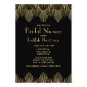 Vintage 20's Art Deco Bridal Shower