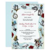Vintage Alice In Wonderland Bridal Shower