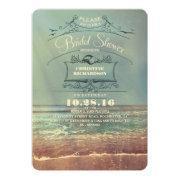 Vintage Beach Bridal Shower