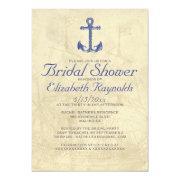 Vintage Boat Bridal Shower