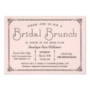 Vintage Bridal Brunch Bridal Shower