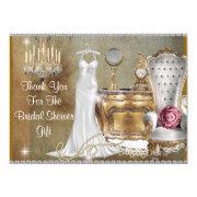 Vintage Bridal Shower Thank You