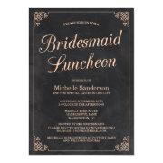 Vintage Chalkboard Bridal Shower Luncheon