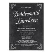Vintage Chalkboard Bridal Shower Luncheon