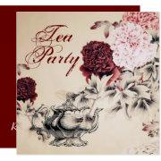 Vintage Floral Bridal Shower Tea Party