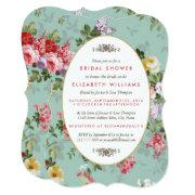 Vintage Floral Garden Botanical Bridal Shower