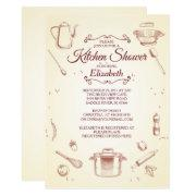 Vintage Kitchen Bridal Shower