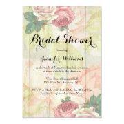 Vintage Rose Floral Bridal Shower
