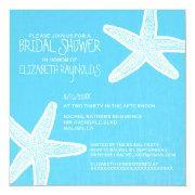 Vintage Starfish Beach Bridal Shower