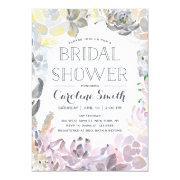 Water Succulents | Bridal Shower