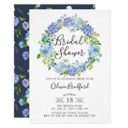 Watercolor Hydrangeas Bridal Shower