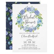 Watercolor Hydrangeas Bridal Shower