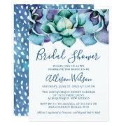 Watercolor Succulent Bridal Shower