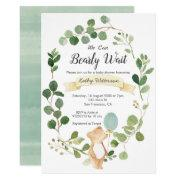 We Can Bearly Wait Bridal Shower Invitation