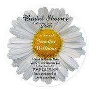 White Daisy Bridal Shower