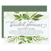 Wild Meadow Bridal Shower Invitation