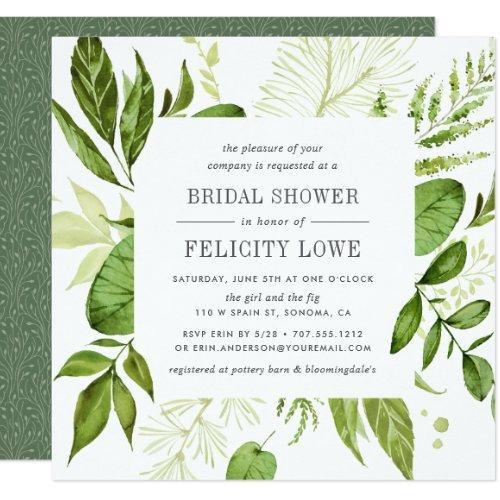 Wild Meadow Bridal Shower  | Square