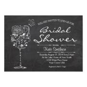 Wine themed bridal shower invitations funbridalshowerinvitations wine bridal shower filmwisefo Image collections
