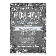 Winter Bridal Shower