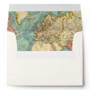 World Map Travel Envelope Travel Adventure Places
