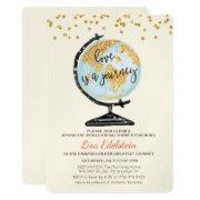 Travel themed bridal shower invitations funbridalshowerinvitations world travel bridal shower invitation filmwisefo
