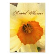 Yellow Daffodil Bridal Shower